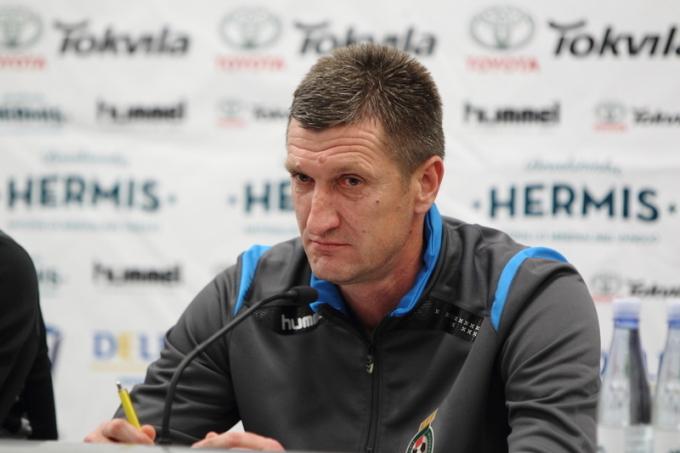 Lithuanian coach, Igori Pankratjevas (15min.lt)