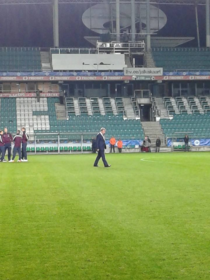 Roy Hodgson in gardener version: 'the pitch looks good'