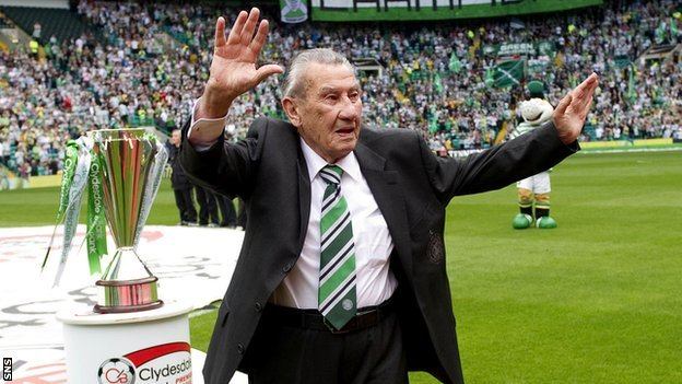 Sean Fallon has been a legend of Celtic FC whose been also assistant manager (bbc.co.uk)