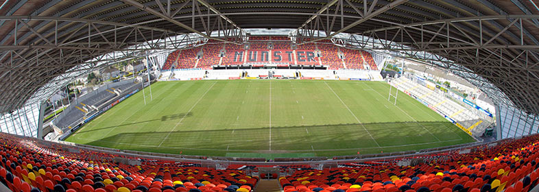 Thomond Park is a rugby venue 'shared' with football (click to enlarge)