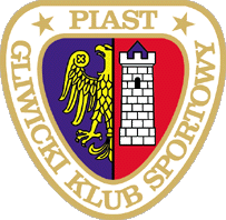 Piast's club logo embeds Gliwice town's coact of arms