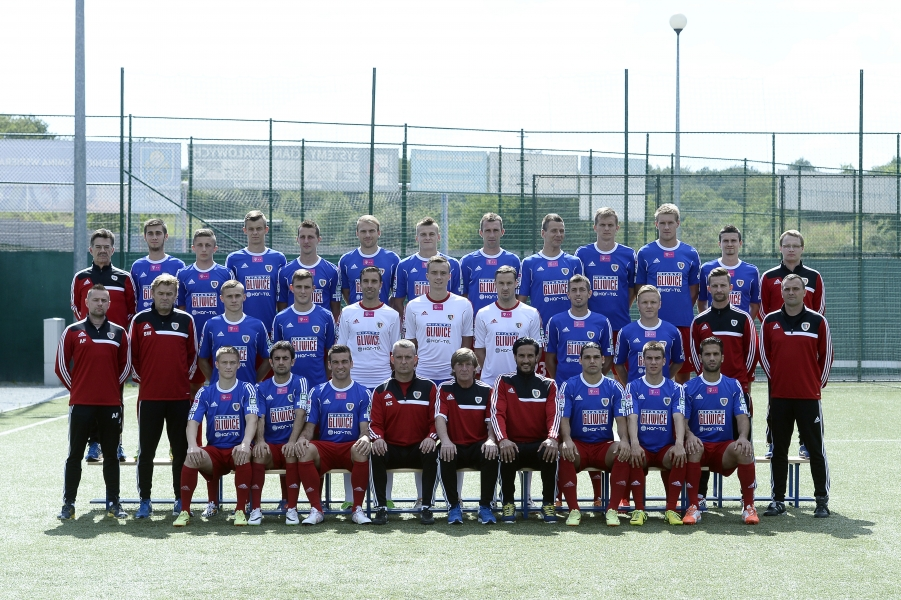 The team picture was made before Vassiljev joined the club at the end of August