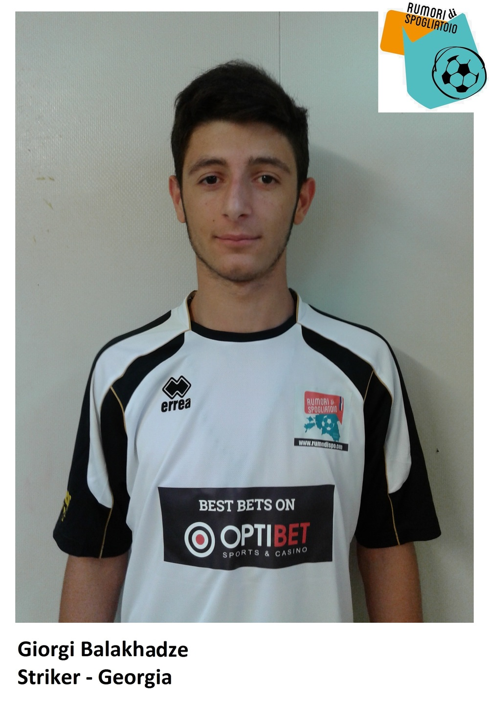 Giorgi Balakhadze was MVP for Rumori Calcio according to IAFA. Exception made for the goal, still room for improvement.