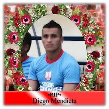 Diego Mendieta died aged 32