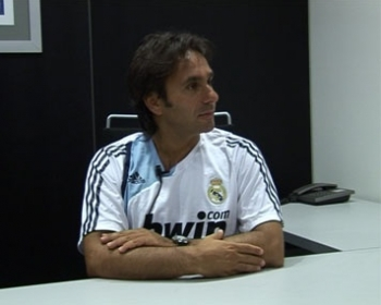 Walter Di Salvo during his time at Real Madrid