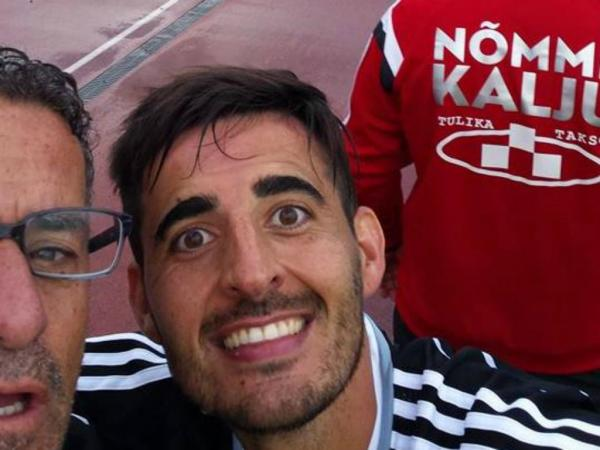 Totti who? The first after-goal selfie was Made in Estonia by a Portuguese (Jorge Rodrigues Facebook page)