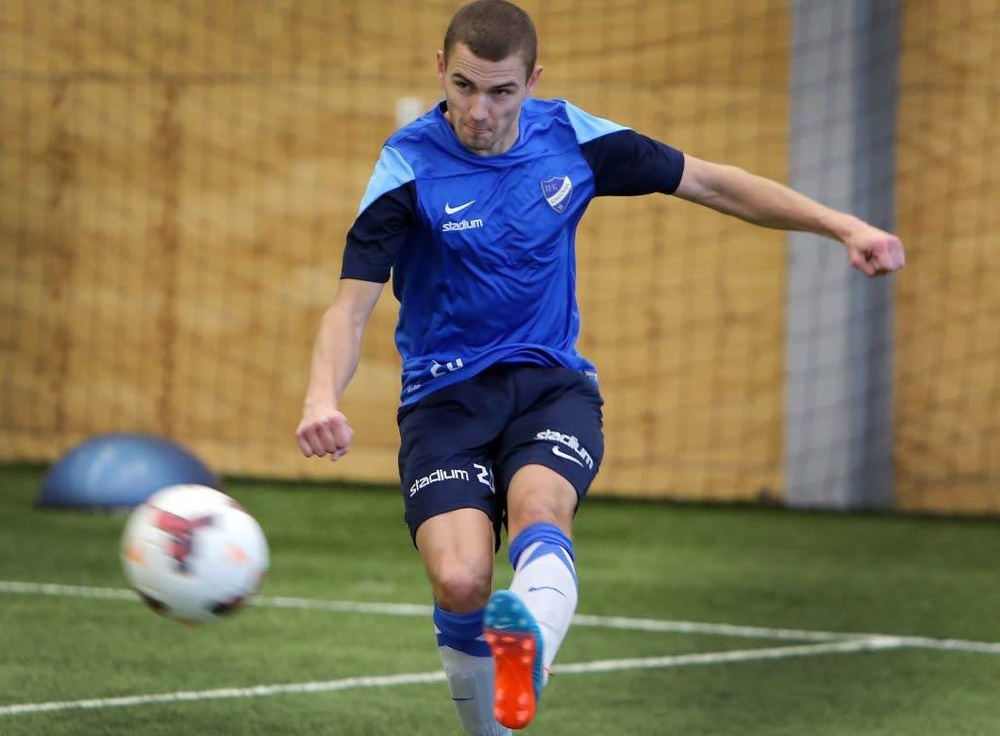 'I did all I could' - Ken Kallaste showed his potential and skills in one-week trainings and a friendly game (NT.se)