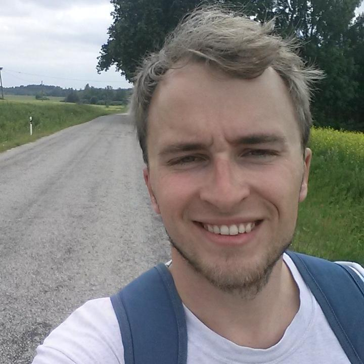 Tammeka CEO Kalle Paas in his twitter profile picture (@kallepaas) where you can follow his updates about the clubboth in Estonian and English.