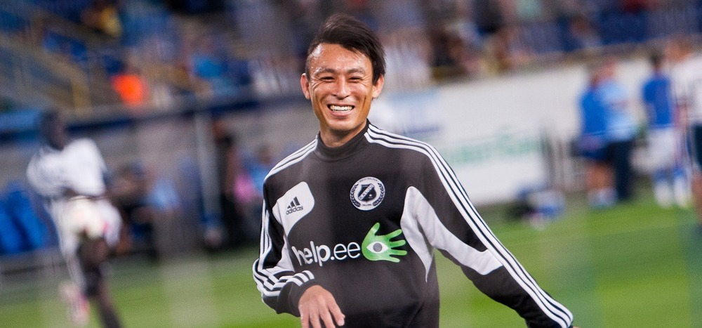 Hidetoshi Wakui is about to start his 5th season at Kalju, the clubs he's been the longest