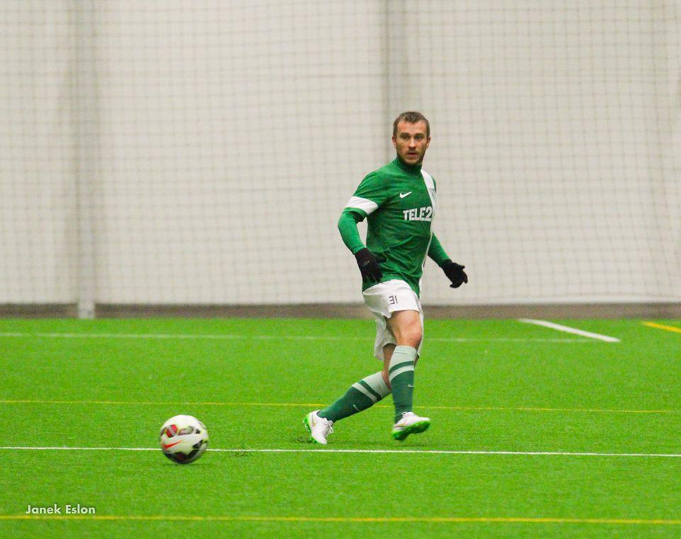 Enar Jääger is Flora's top signing for season 2015(Janek Eslon / FC Flora Facebook)