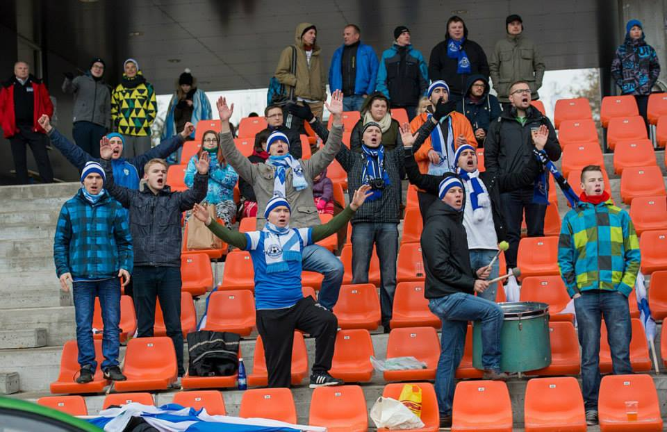 Always there for their team, Tammeka fans (foto: Tammeka FB)