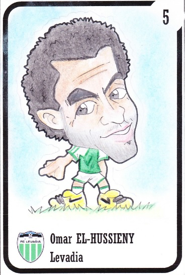 Omar El-Hussieny in our illustration prepared by Riccardo D'Agnese