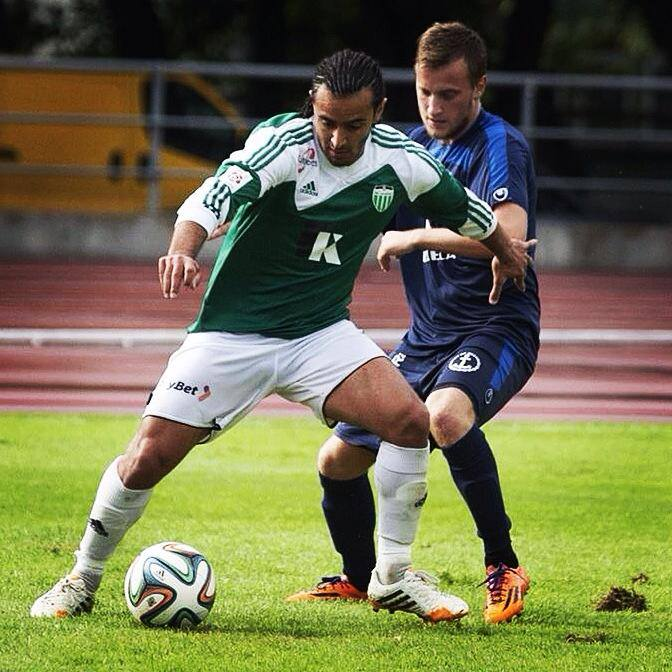 Omar in action against Narva Trans last season (fclevadia.ee)