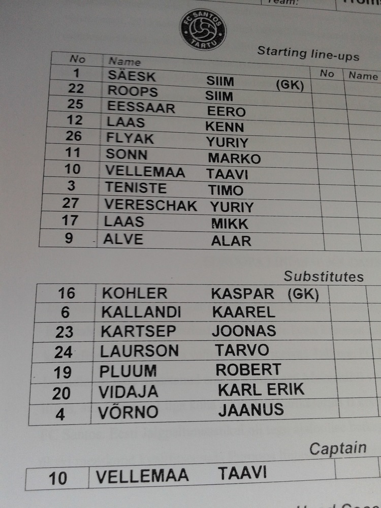 The starting line-up in Europe last season looked quite different (RdS)