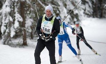 Raio spent the winter training and competing in marathon skiing (Delfi.ee)