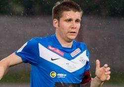 Kristjan Tiirik was Tammeka's most threatening player (image: soccernet.ee)