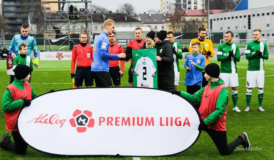 Sander Post's quality not enough to keep Viljandi up (foto: FC Flora FB)