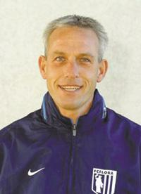 Arno Pijpers during his time at Flora. He was also Estonian national team coach. (FC Flora)