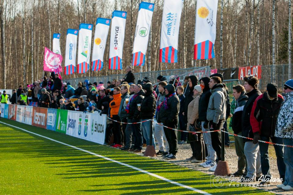 Good turnout at Paide City Stadium: 196 people according to the official numbers (Getrud Alatare Photography)