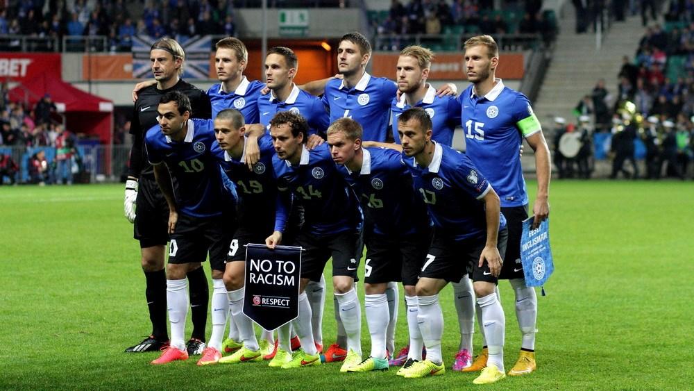 Estonian national team (jalgpall.ee)