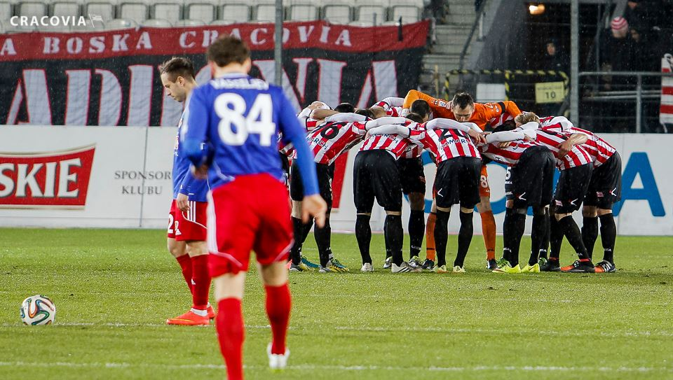 Difficult times for Vassiljev and Piast Gliwice (Cracovia FB page)
