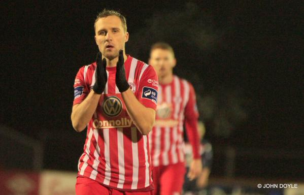 Sander Puri's act at Sligo was immediately appreciated by critics and fans in Ireland (John Doyle/Sligo Rovers FC)