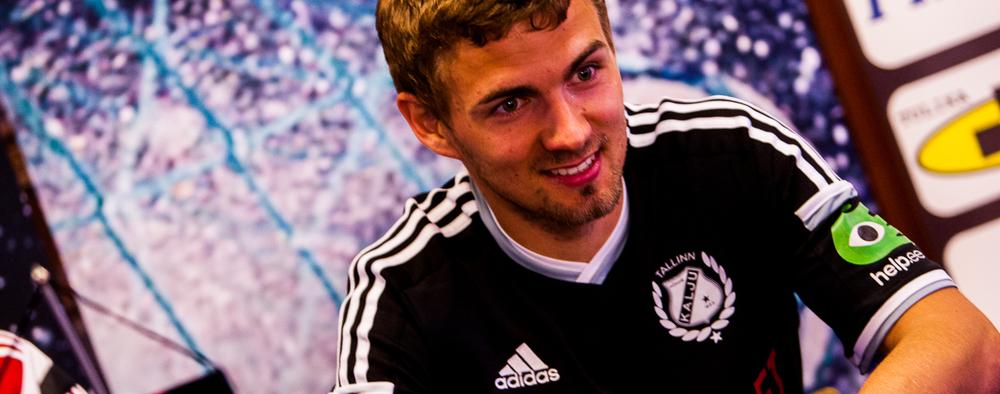 Ken Kallaste bagged two of Kalju's goals (image: jkkalju.ee)