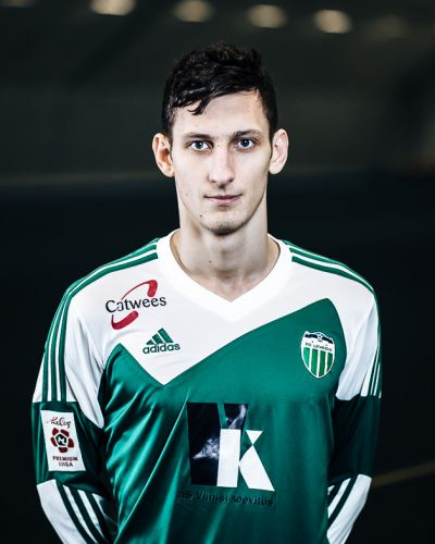 Igor Subbotin in his FC Levadia outfit he wore until November 2014 (fclevadia.ee)