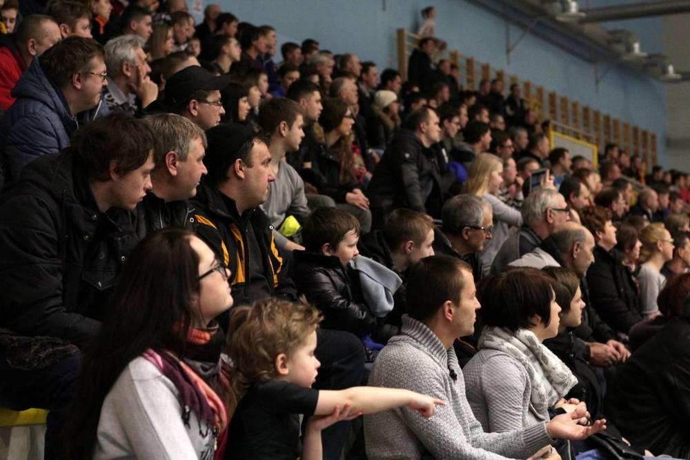 Narva United – SJK Dina Sillamäe, 14.02.15. 457 pealtvaatajat. Foto: TEMA.EE