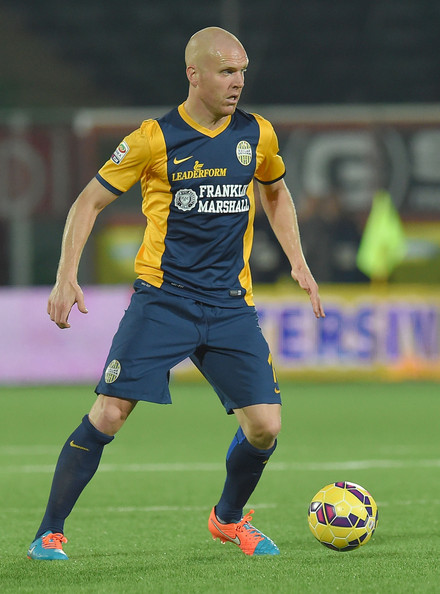 Hafredsson in Hellas Verona strip (Zimbio.com)