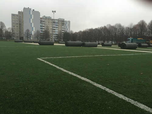 Lasnamäe Athletics complex will be ready to host FC Infonet's games only in May (fcinfonet.ee)