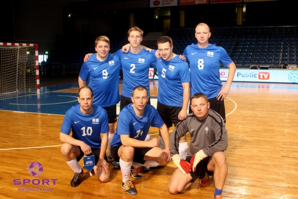 Last year's Estonian MP's reached an unprecedented third place thanks to Ralf Rogov (front row, middle)