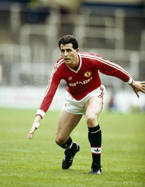 Liam O'Brien during his time at Man United