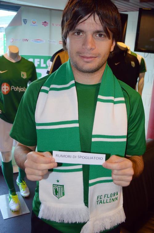 We vote for Ira(FC Flora Facebook)