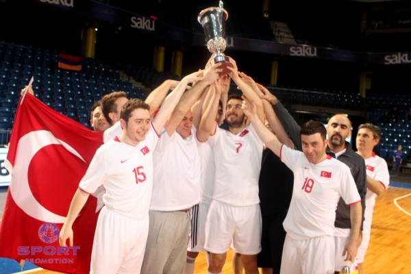 Turkey won't defend the title earned last year against Armenia