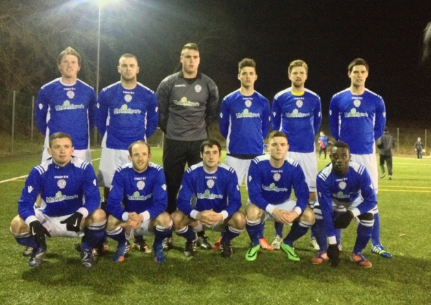 A Finn Harps XI. The gaelic name of the club is Cumann Peile Chláirsigh na Finne (Donegal News)