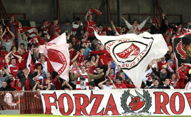 Sligo Rovers fans (the42.ie)