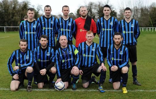 A Crumlin United's XI (Belfast Telegraph)