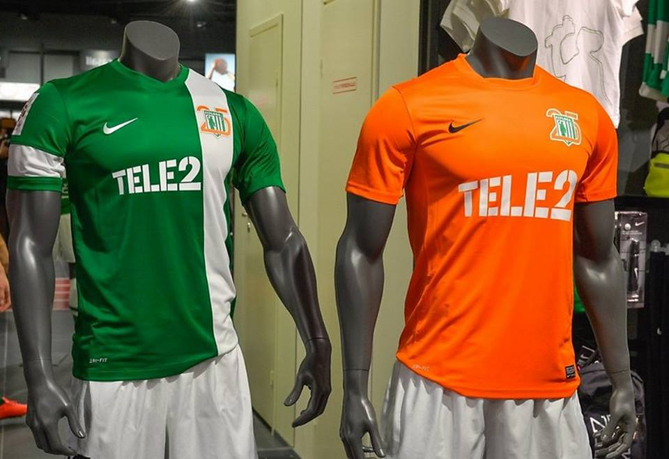 Flora' special jerseys for the 25th anniversary. The orange one is in limited edition and will be available only for club's aimed marketing activities.