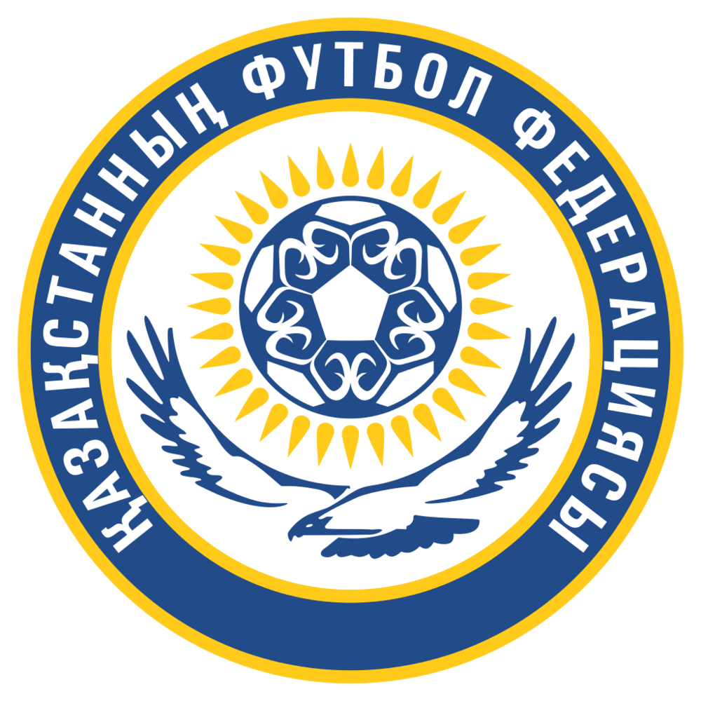 Kazakh FA coat of arm.