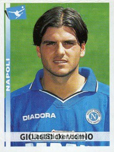 Giorgio Di Vicino when was a Panini sticker at SS Napoli