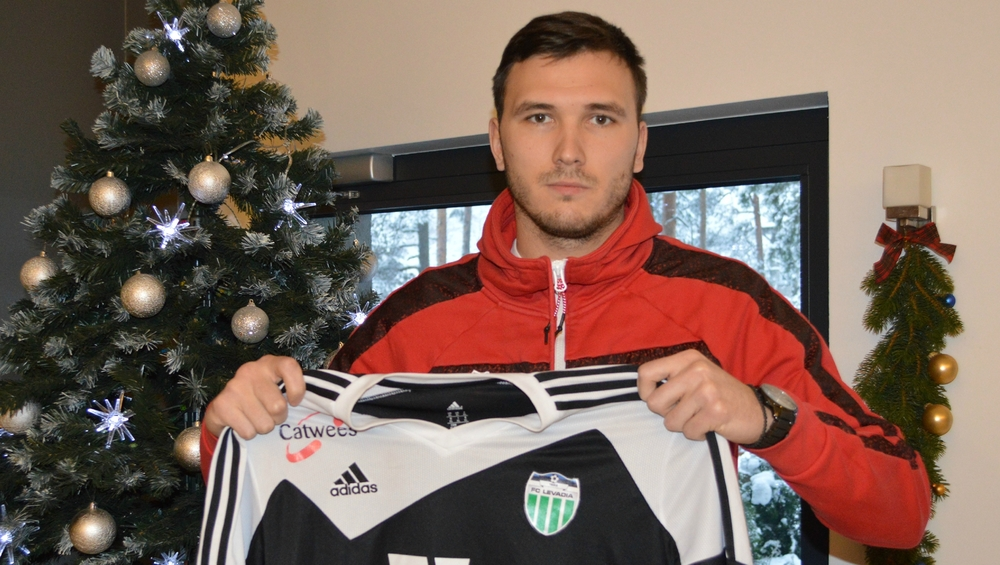 From Christmas to Summer, Shirokov lasted less than one year at Levadia (FC Levadia Facebook)