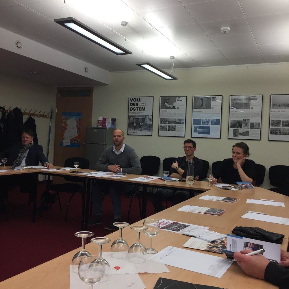 14. D e z e m b e r 2018: Mitglieder bei unserer  Jahreshauptversammlung  in den Räumen der Bundesstiftung zur Aufarbeitung der DDR-Geschichte