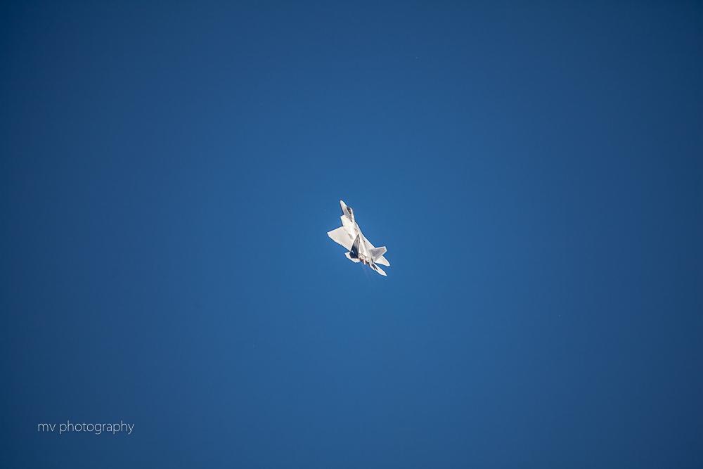 YF22 Raptor Avalon Air show