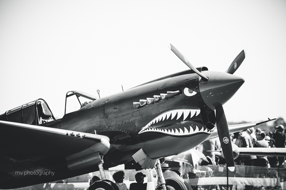 RAAF Curtis P-40 Kittyhawk Avalon Air show