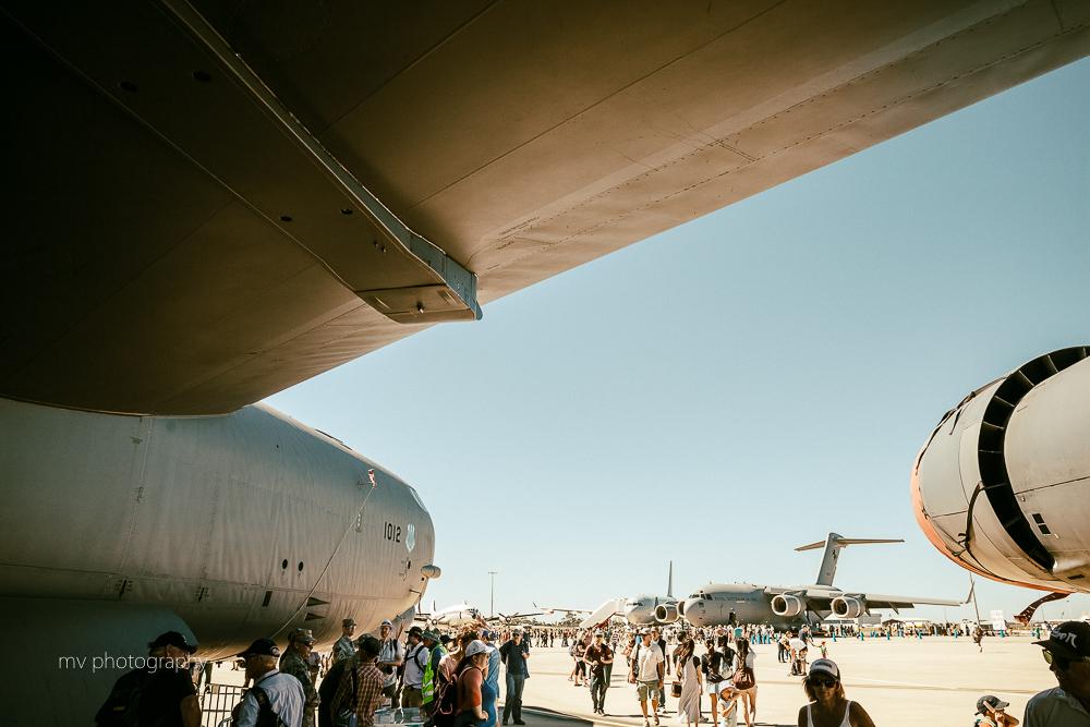 B-52 Bomber Avalon Air show