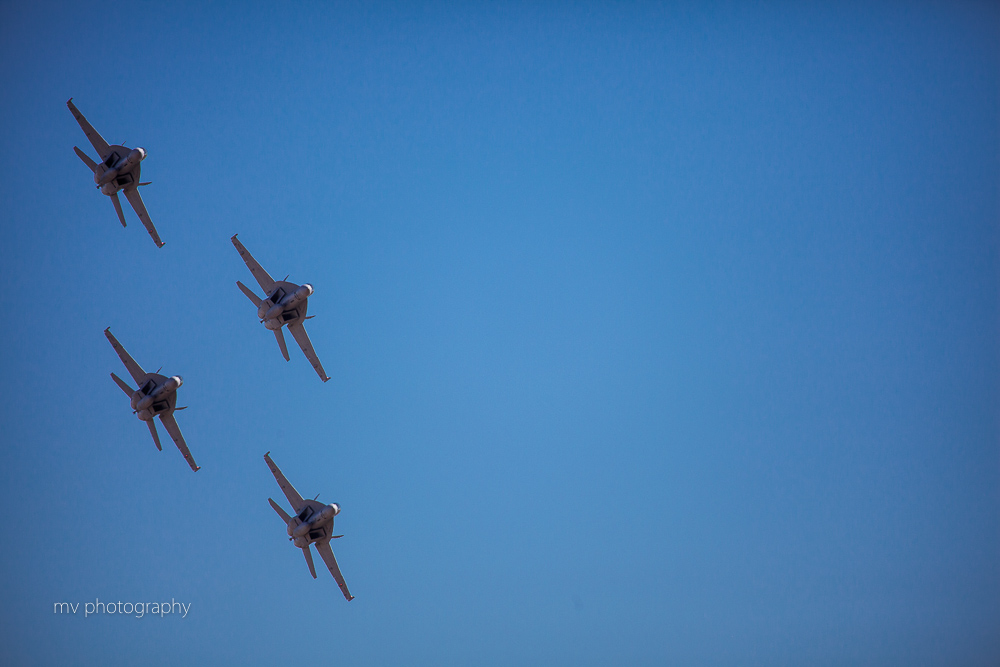 FA-18 Super Hornet Formation Avalon Air show formation
