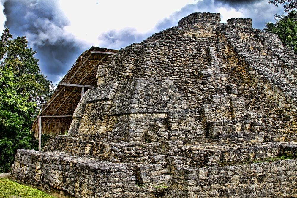 Mayan Ruins in Mexcio