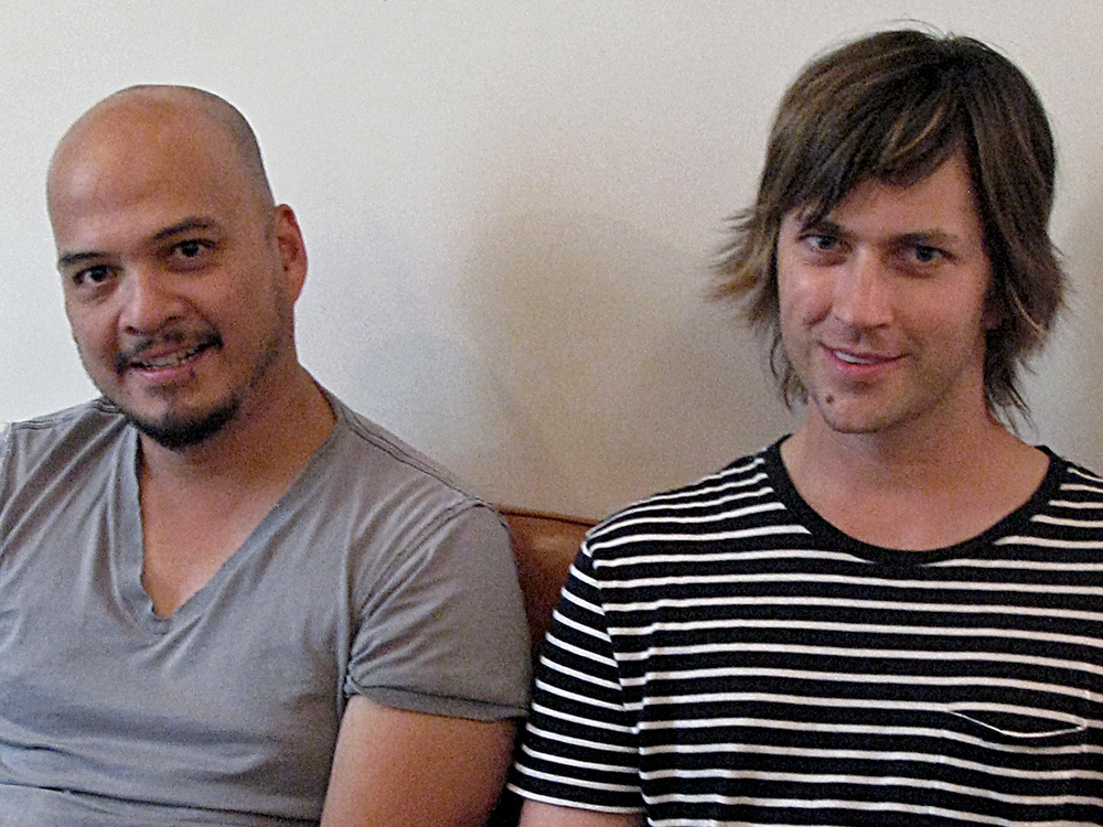 RHETT MILLER (OLD 97's) & JOEY SANTIAGO (THE PIXIES)   |  Woodstock, NY + Studio City, CA