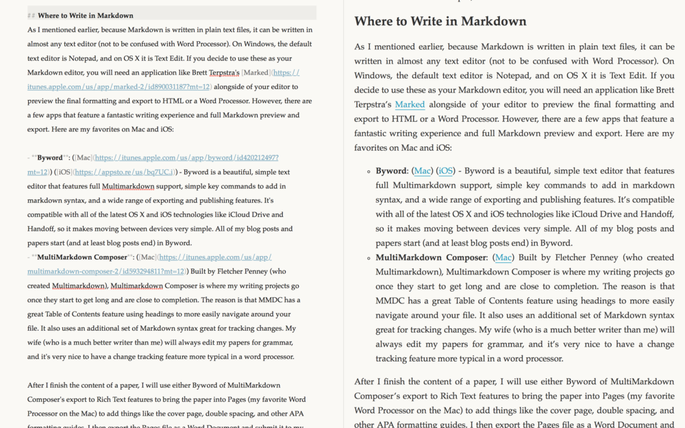 Fletcher Penny's Multimarkdown Composer